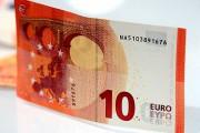 Новая банкнота 10 евро