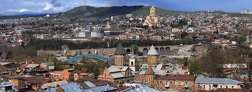 Panorama Tbilisi - Georgian lari