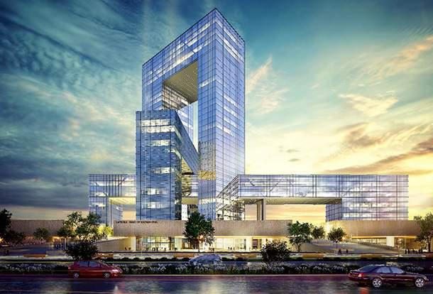 Национальный Банк Республики Казахстан - проект нового здания